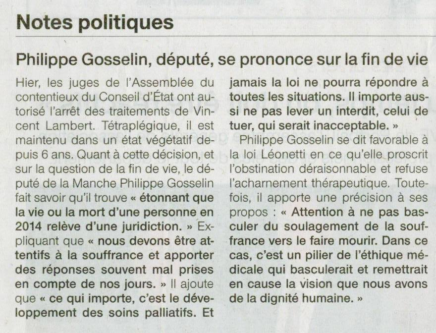 article Ph Gosselin
