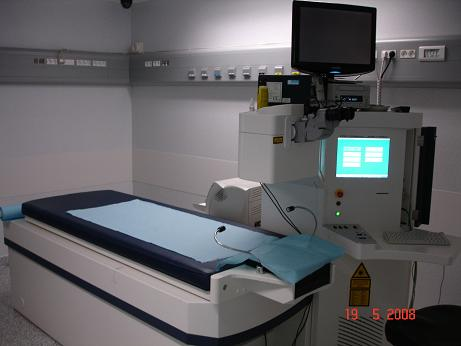 Le laser excimer est le laser qui va réaliser la correction proprement dite